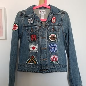 Hudson Bay Company Team Canada Olympic Jean Jacket